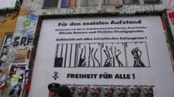 Solidarität mit Alfredo Bonanno und Christos Stratigopoulos in Hamburg an der Roten Flora