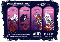 Noise and Resistance - Solikonzert für ABC Moskau am 11.06.11 in der Køpi in Berlin