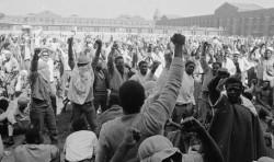 Knastrevolte in Staatsgefängnis Attica im Jahr 1971