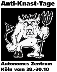 Anti-Knast-Tage vom 28. bis 30.10.2011 in Köln