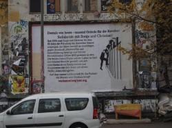 solidarische Plakatwand für Sonja Suder und Christian Gauger in Hamburg
