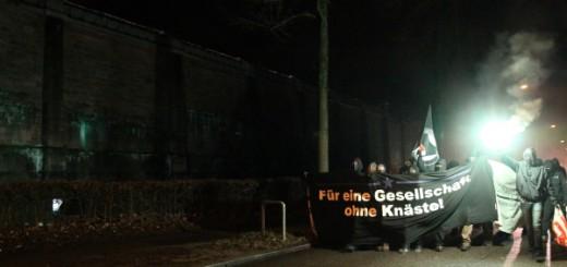Silvester zum Knast - Demo 2011 in Freiburg