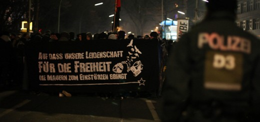 Silvester zum Knast-Demonstration in Berlin 2011