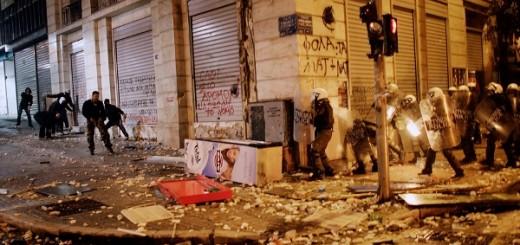 Solidarität mit dem sozialen Aufstand in Griechenland! - In Athen am 12. Februar 2012