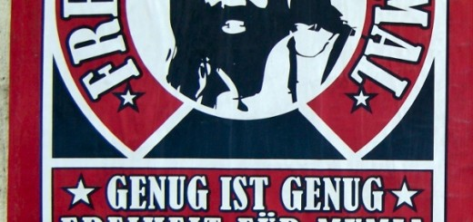Genug ist genug - Freiheit für Mumia - sofort! - Demonstration am 21. April 2012, Berlin - 16:00 - Rosa-Luxemburg-Platz - Berlin-Mitte