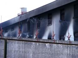 Im Zuge des Erdbebens in den frühen Morgenstunden des 27. Februars 2010 in Chile wurden die Mauern des Vernichtungszentrums auch chilenische Gefängnisse genannt, durch einen gewaltigen Schlag der wilden Natur niedergerissen.