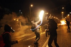Im Gedenken an Alexis - Revolte in Griechenland im Dezember 2008