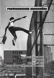 Stein für Stein. Kämpfen gegen das Gefängnis und seine Welt - Broschüre - cover