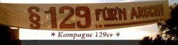§129 fürn arsch