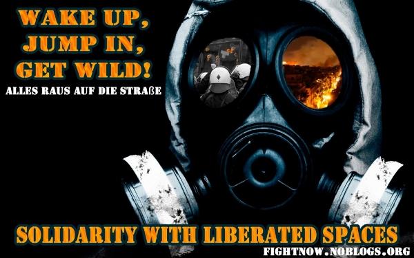 Solidaritätskampagne für befreite Räume und Kolleg@s weltweit