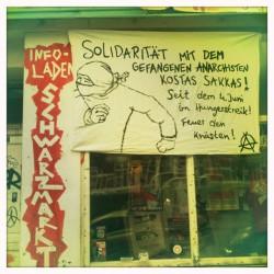 Solidarität mit dem gefangenen Anarchisten Kostas Sakkas