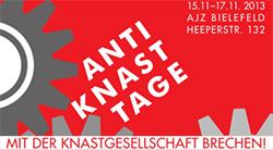 Anti-Knast-Tage 2013 vom 15. bis 17. November in Bielefeld