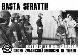 Basta sfratti! - Broschüre zu den Kämpfen gegen die Zwangsräumungen in Turin
