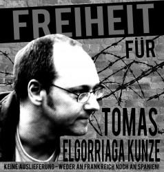 Freiheit für Tomas Elgorriaga Kunze