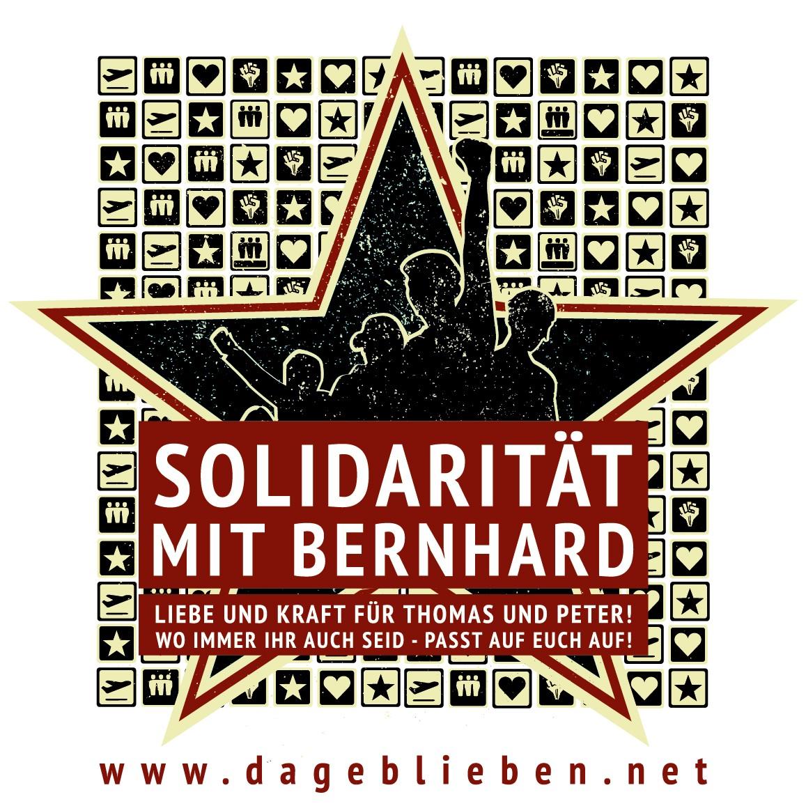 Solidarität mit Bernhard - Keine Auslieferung