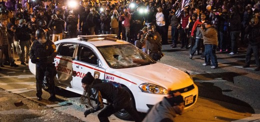 Ferguson Riot Police Car