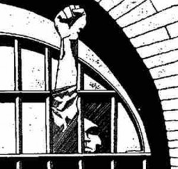 Faust aus dem Gitter