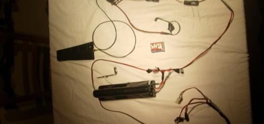 Die komplette Vorrichtung - Versteckte Kamera in einer Wohnung von zwei AnarchistInnen entdeckt - Brüssel, Belgien