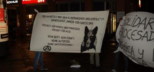 Hamburg: Solidarität mit den 5 verfolgten und gefangenen Anarchist_innen von Barcelona